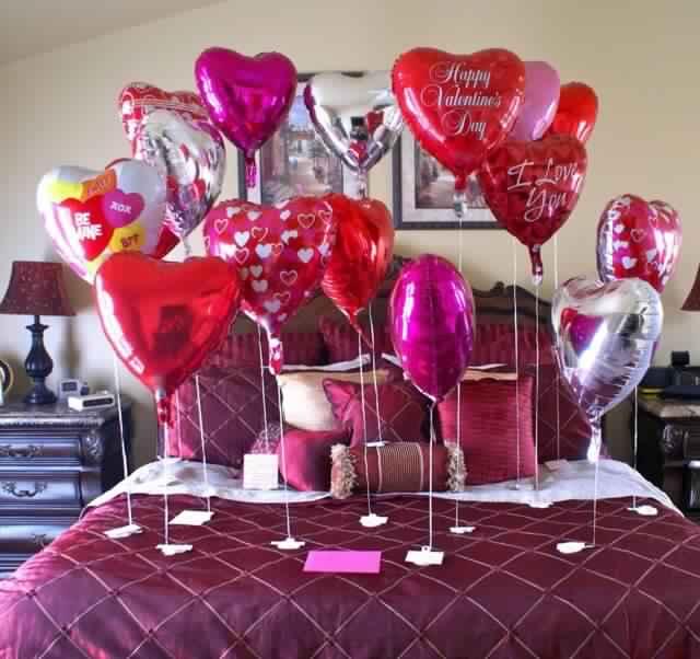 idée-déco-Saint-Valentin-balons